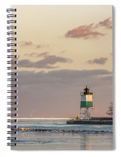 Harbour Sunset Spiral Notebook