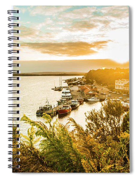 Harbouring A Colourful Vista Spiral Notebook