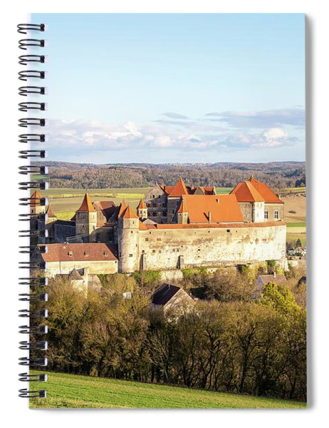 Harburg Castle Spiral Notebook