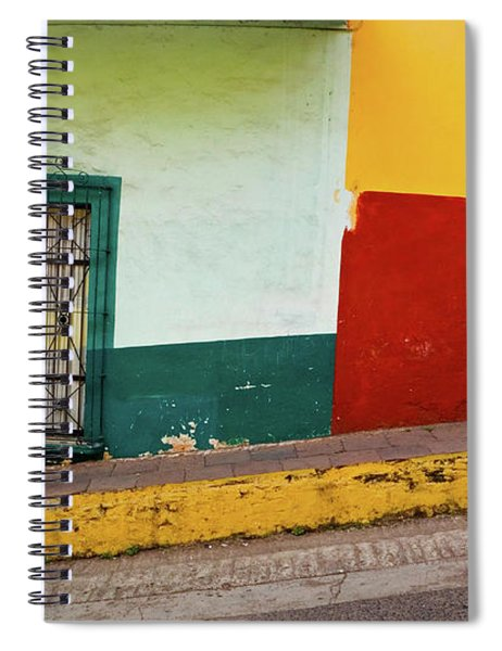 Spiral Notebook featuring the photograph Hard Knock Life by Skip Hunt