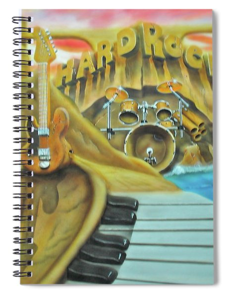Hard Rock Spiral Notebook
