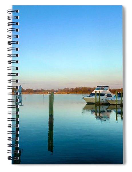 Hard Yacht Cafe Spiral Notebook