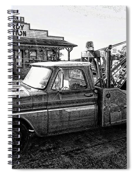 Hardy Station Spiral Notebook