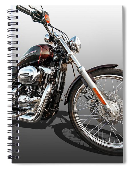 Harley Sportster Xl1200 Custom Spiral Notebook