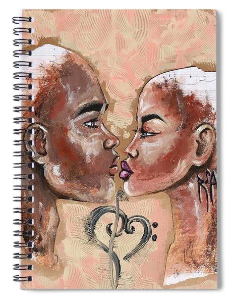 Harmonies Spiral Notebook