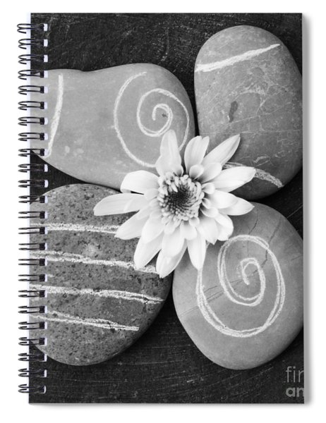 Harmony And Peace Spiral Notebook by Linda Woods