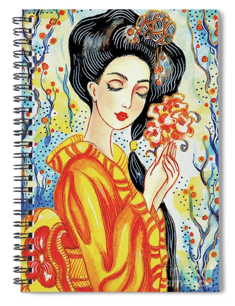 Harmony Flower Spiral Notebook