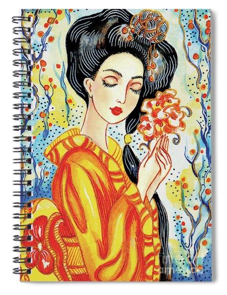 Harmony Flower Spiral Notebook