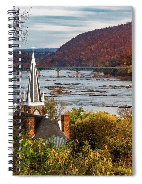 Harpers Ferry, West Virginia Spiral Notebook