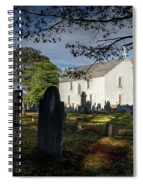 Harpswell Meeting House Spiral Notebook