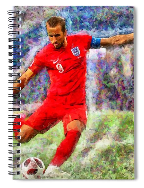 Harry Kane Spiral Notebook