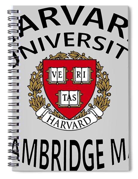 Harvard University Cambridge M A  Spiral Notebook