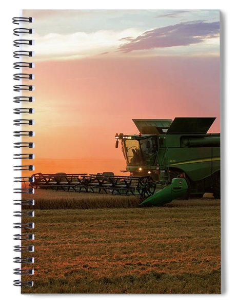Harvest Colors Spiral Notebook