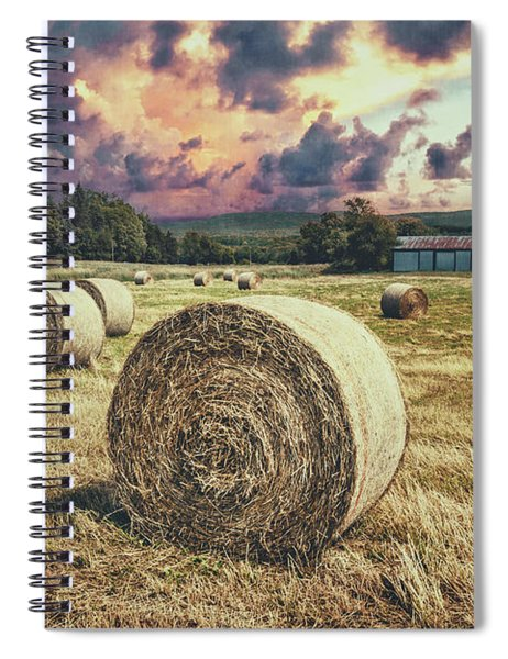 Harvest Spiral Notebook