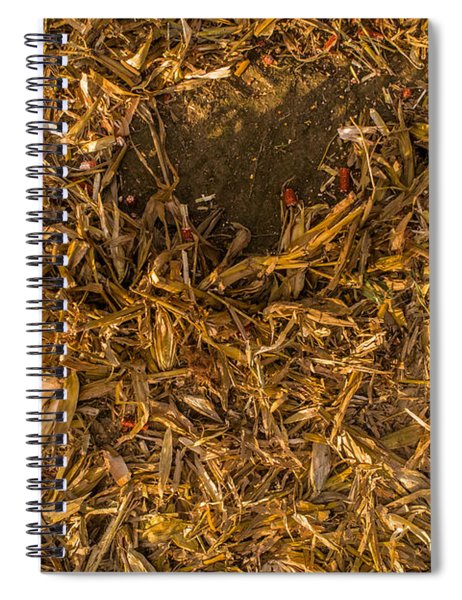 Harvest Leftovers Spiral Notebook