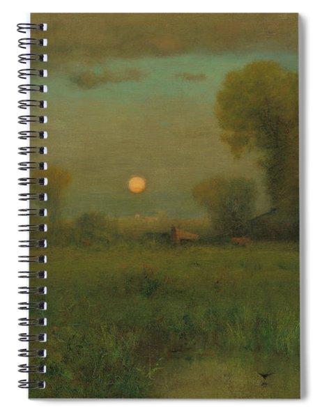 Harvest Moon, 1891 Spiral Notebook