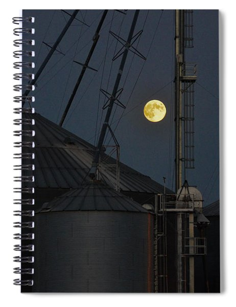 Harvest Moon Spiral Notebook