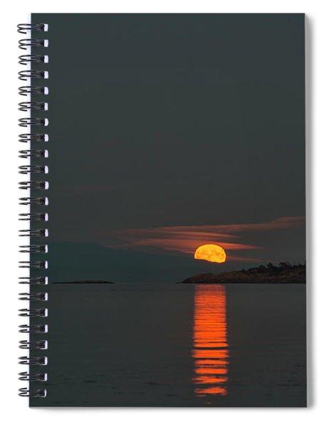 Harvest Moon Spiral Notebook