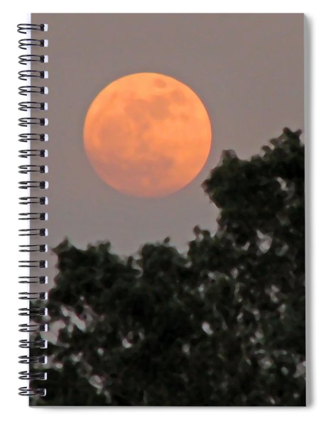 Harvest Moonrise Spiral Notebook