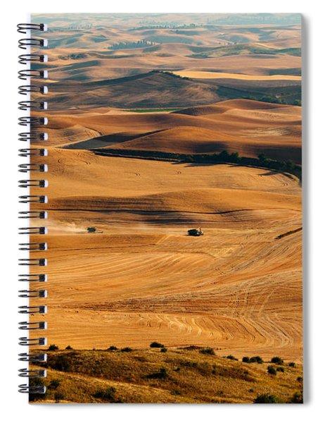 Harvest Overview Spiral Notebook