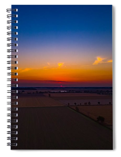 Harvest Sunrise Spiral Notebook