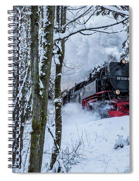 Harzquerbahn Spiral Notebook