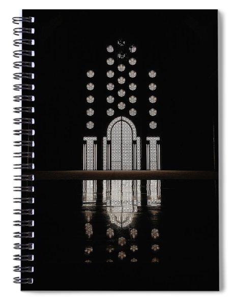 Hassan II Mosque Spiral Notebook