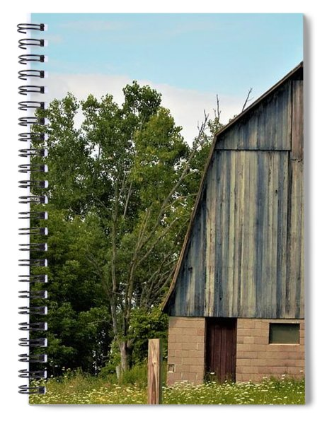 0017 - Hassler Lake Road Horse Barn Spiral Notebook