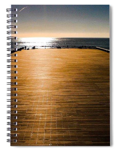 Hastings Pier, Hastings, Sussex, England Spiral Notebook