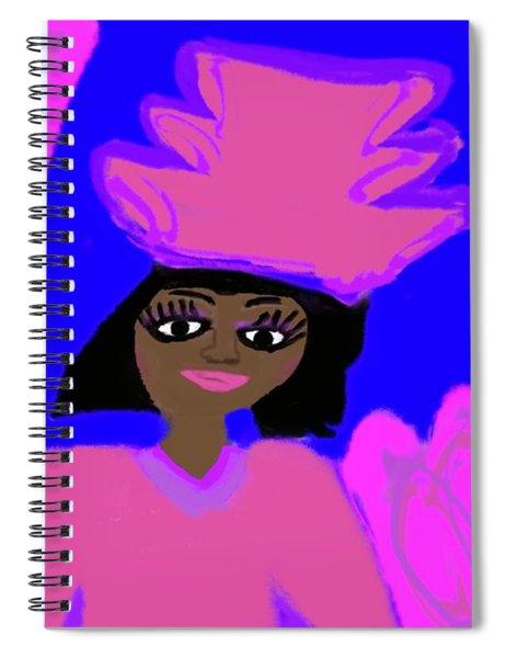 Hat Of Faith Spiral Notebook