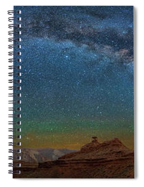 Hat Rock Milky Way Spiral Notebook