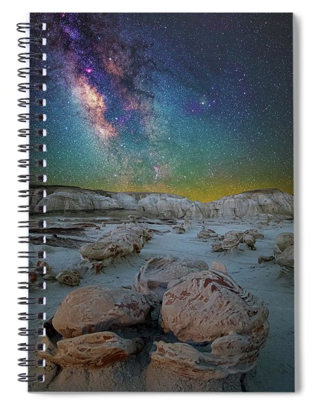 Hatched By The Stars Spiral Notebook