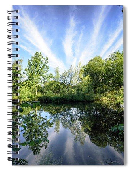 Hatfield Forest Lake England Essex Summer Spiral Notebook