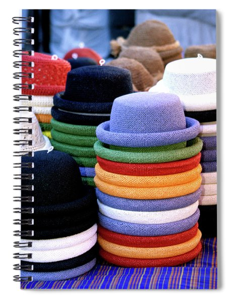 Hats, Aix En Provence Spiral Notebook