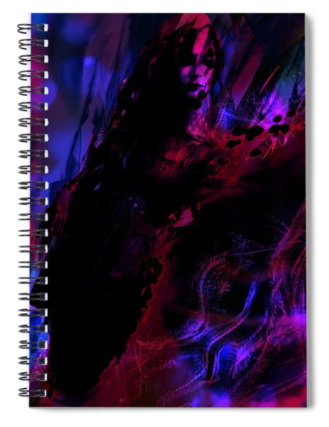 Haunted Spiral Notebook