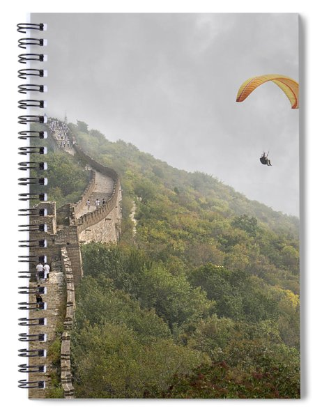 Haunting Great Wall Spiral Notebook