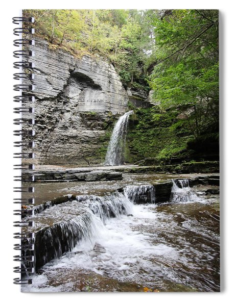 Eagle Cliff Falls II Spiral Notebook