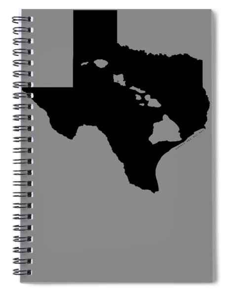 Hawai'i And Texas Roots By Hawaii Nei All Day Spiral Notebook