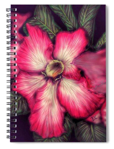 Hawaii Flower Spiral Notebook