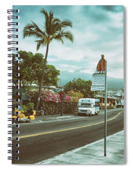 Hawaii Ironman Start Point  Spiral Notebook