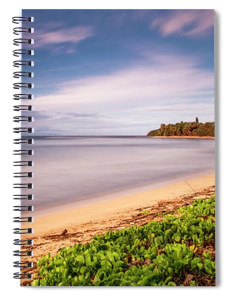 Hawaii Pakala Beach Kauai Spiral Notebook