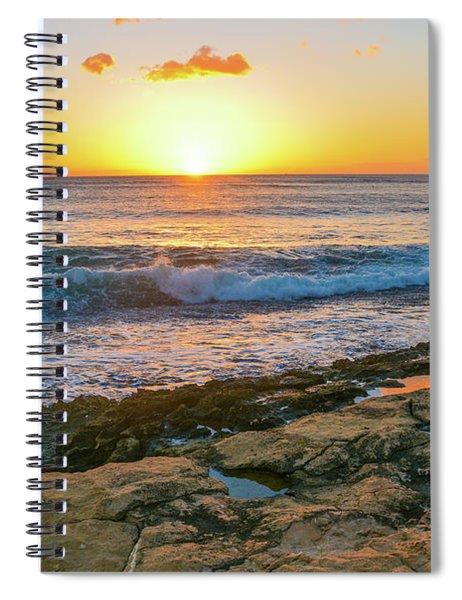 Hawaii Sunset Spiral Notebook