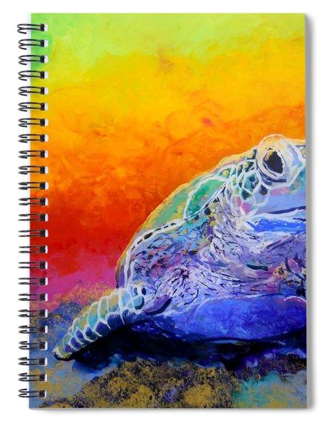 Hawaiian Honu 4 Spiral Notebook