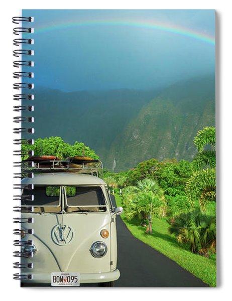 Hawaiian Kom-bow Spiral Notebook