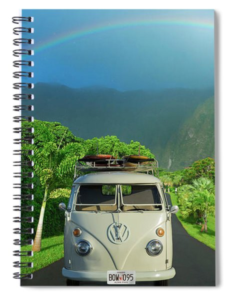 Hawaiian Kom-bow Spiral Notebook