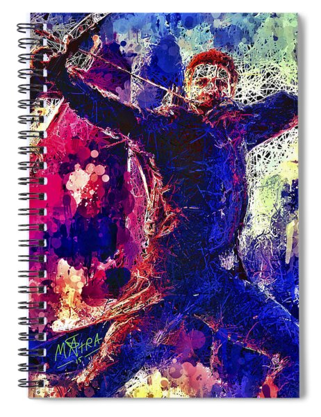 Hawkeye Spiral Notebook