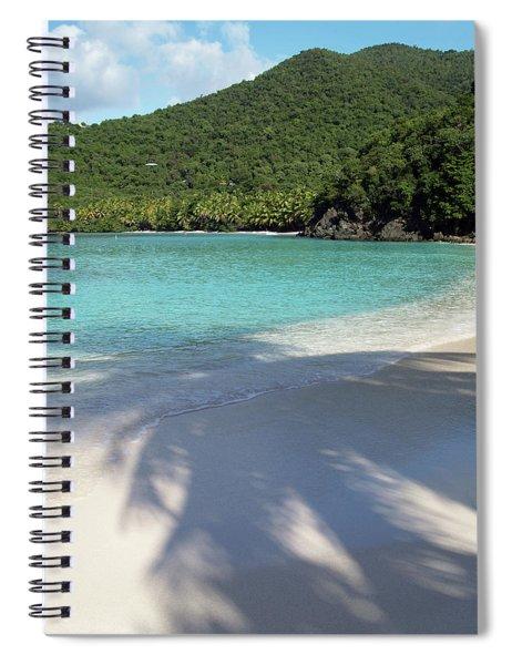 Hawksnest Bay And Gibney Beach Spiral Notebook