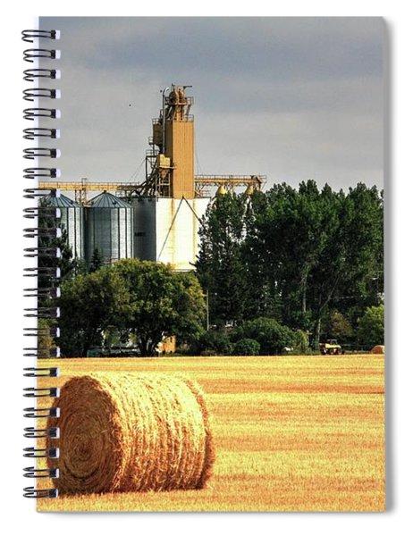 Hay Making Spiral Notebook