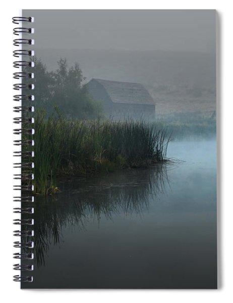 Haynes Ranch Predawn II Spiral Notebook