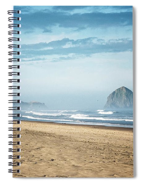 Haystack Rock Pacific City Spiral Notebook